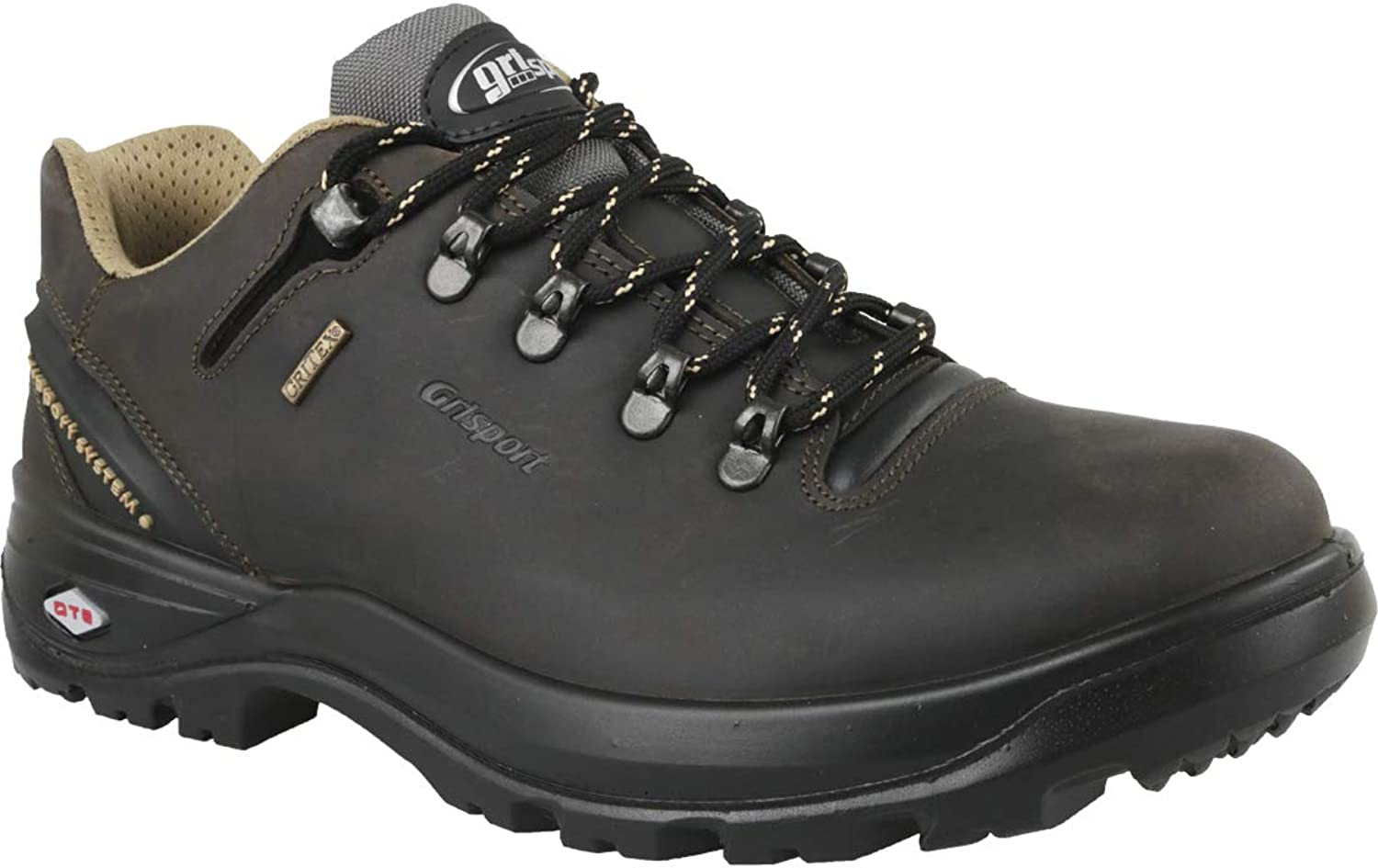 greyport 11510D112G Mens Black shoes