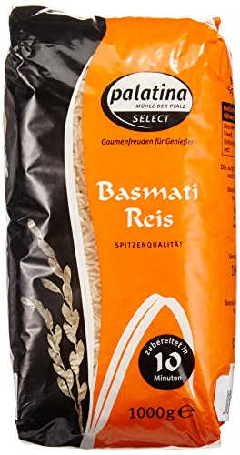 Palatina Basmatireis 1 kg, 2er Pack (2 x 1 kg)