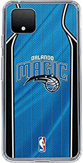 Skinit Clear Phone Case for Google Pixel 4 XL - Officially Licensed Orlando Magic Jersey Design