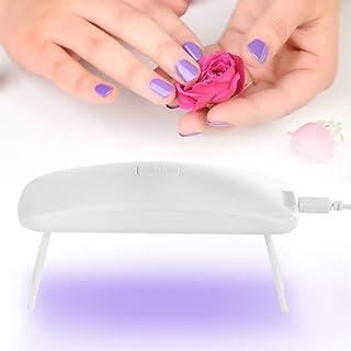 Mini lámpara de uñas de bajo consumo para pulido de uñas de gel con cable USB