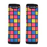 Cosmos Comfort Neoprene Handle Wraps/Grip/Identifier for Travel Bag Luggage Suitcase (Puzzle)