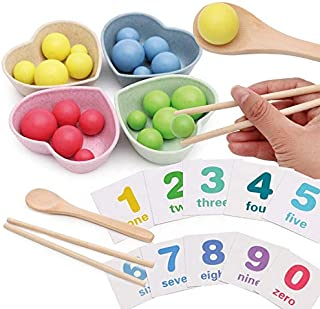 BERRY Counting Educational Montessori Toy Numbers Colors