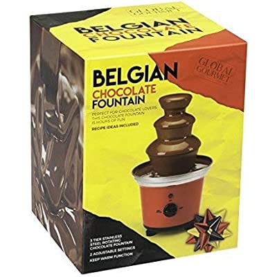 Cheap Global Gourmet Belgian Chocolate Fountain Fondue