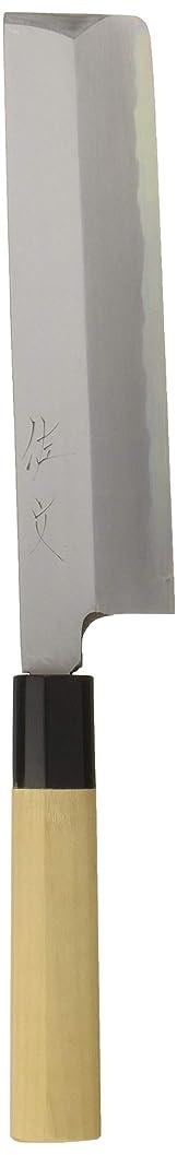 評価する咲くウィンク遠藤商事 業務用 佐文 薄刃 19.5cm 本霞玉白鋼 日本製 ASB16019