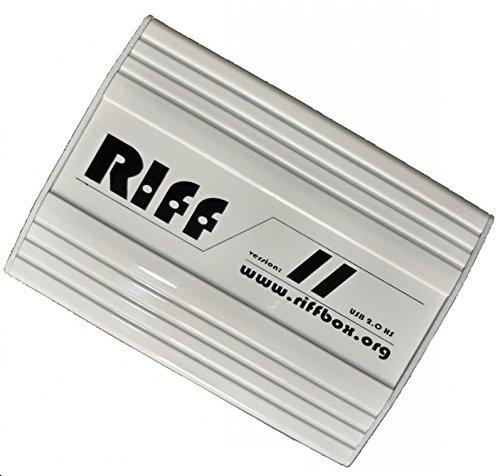 RIFF Box v.2 wurde entwickelt, um eine Vielzahl von Kommunikationsprotokollen aufzunehmen.