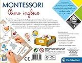 Zoom IMG-2 clementoni 16322 montessori primo inglese