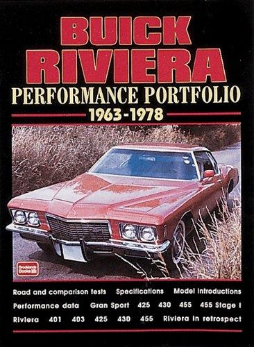 Buick Riviera 1963-78 Performance Portfolio