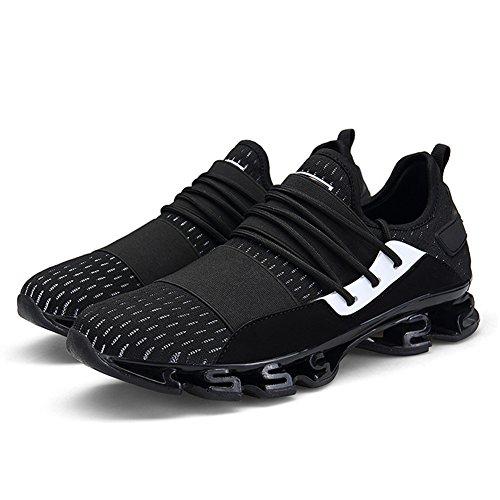 ZHShiny Männer Leichte Laufschuhe Walking Casual Sportlich Sportschuhe Mode Gym Sneaker für College-Student Outdoor-Reisen