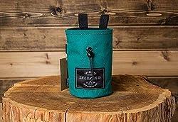 fabric handmade bags and purses - chalk bag