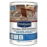 STARWAX Saturateur Application Facile - 5L - Protège des Intempéries Grâce à sa Barrière Hydrofuge Anti-UV