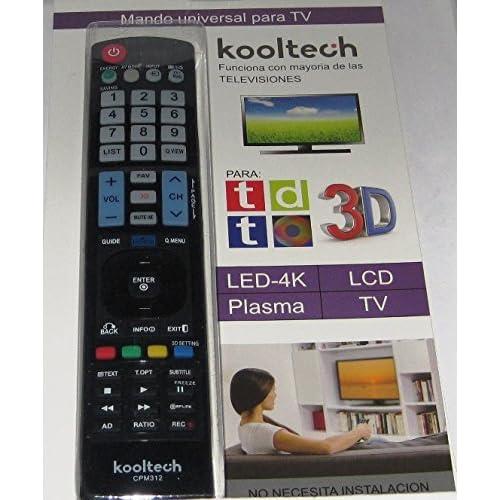 Mando Distancia Universal para la Mayoría TV Televisores LG SIN ...