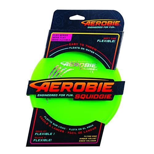 Aerobie 6046408 Squidgie Disc, weiches Frisbee mit Durchmesser 20cm, farblich sortiert