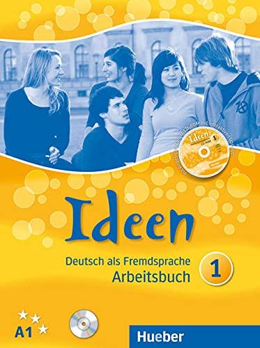 IDEEN 1 Arbeitsb.+CD z.AB.+CD-ROM [Lingua tedesca]: Deutsch als Fremdsprache: Vol. 1