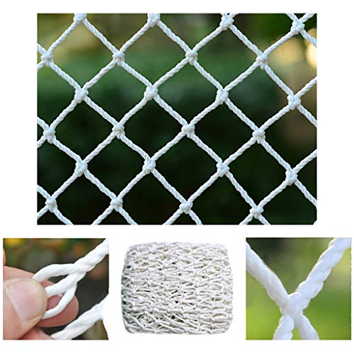 STTHOME Child Safety Net Protection Climbing Frames Garden Net Poultry Fence Net Light Net Accessories Sports Field White Net Suitable For Playground Playground Multi-size Multi-function 5cm Mesh