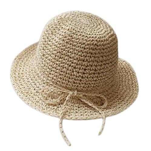 Nikgic Mujeres Moda sombrero Sol Breathable Punta