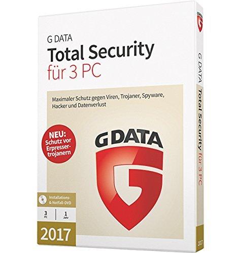 G DATA Total Security 2017 Vollversion - 3 PC / 1 Jahr