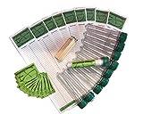 10 x Petling Komplett Set mit Aufkleber Logstreifen und Bleistift