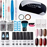 Best Nail Kits - Gellen Gel Nail Polish Starter Kit With Nail Review
