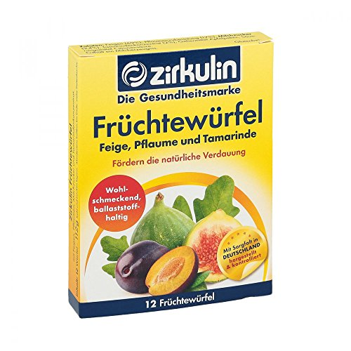 DISTRICON Zirkulin Fruechtewuerfel, 1er Pack(1 x 134 g)