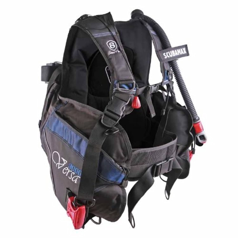 New ScubaMax Versa Scuba Diving Travel BCD (Size Medium) by ScubaMax