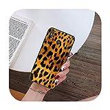 Hopereo Moda Sexy Leopard Print Panther teléfono caso para Xiaomi para Redmi 4X 5Plus 6A 7 7A 8 8A para Redmi Note 4 5 7 8 9 Nota 8T 8Pro 9Pro-A7-Para Redmi 4X