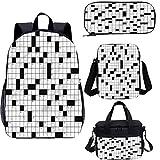 Word Search Puzzle 17 'Kids School Bookbags Set,Classic 4 en 1 mochila Sets