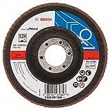 Bosch 2608607346 Disco abrasivo 115 mm, 22,23 Mm, 120, U/min, 1 pezzo...