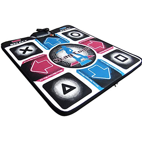 Rehomy Non-Slip Dance Mat USB Gaming Mat Dancing Step Pad Compatible for PC Laptop