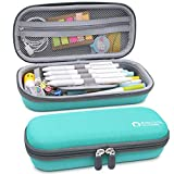 Aiscool Hard Pen Pencil Case Pouch Holder Big Capacity Stationery Box for School Supplies Office Stuff(Green)