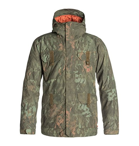 DC Shoes Mens Shoes Servo - Snowboard Jacket - Men - M - Brown Camo Lodge M