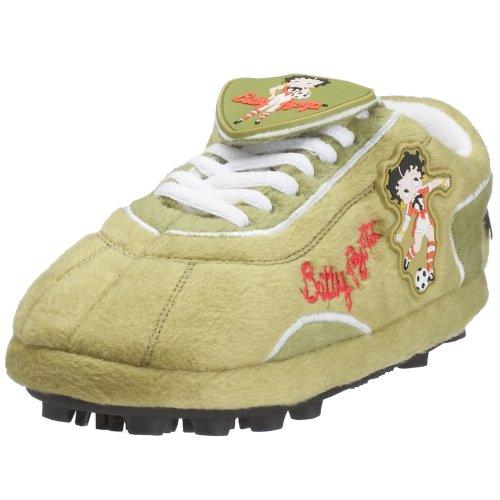 Sloffie Fanschuh Betty Boop soccer, Gr. 32-35, grün (13433)