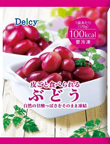 [冷凍]Delcy皮ごと食べられるぶどう170g×12個