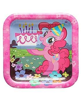 my little pony plates