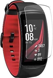 Vaxson 4-pack skärmskydd, kompatibel med Samsung Galaxy gear fit2 pro / fit2 fit 2, TPU Guard filmskydd klistermärke [INTE...