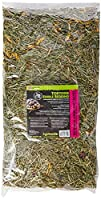 Edible tortoise bedding, blended with flowers, leaves and grasses Suitable for all tortoise species Great and all natural products Model number: 83309