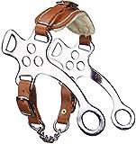 Hackamore acier chromé pour poney - Viomet