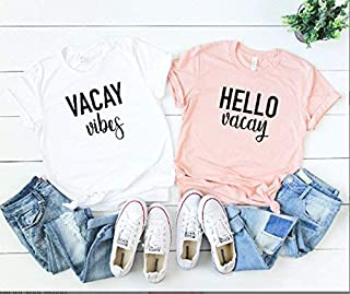 Vacay tee summer t-shirts Vacation outfits hello vacay vacay vibes vacation tees