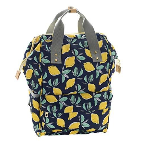 Snakell Baby Wickelrucksack mit Wickelunterlage, Multifunktionale wasserdichte Wickeltasche mit große Kapazität und warme Tasche, Babytasche für Reise Handtasche große beiläufig Tasche