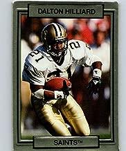 1990 Action Packed #173 Dalton Hilliard Saints NFL Football
