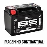 BS Battery 300674btx9AGM SLA Batería de Moto, Color Negro