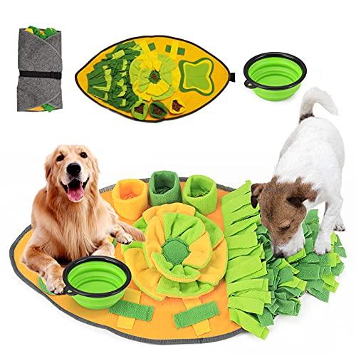 Hund Schnüffelteppich Intelligenzspielzeug,Hund Riechen Trainieren,Hunde Puzzle...