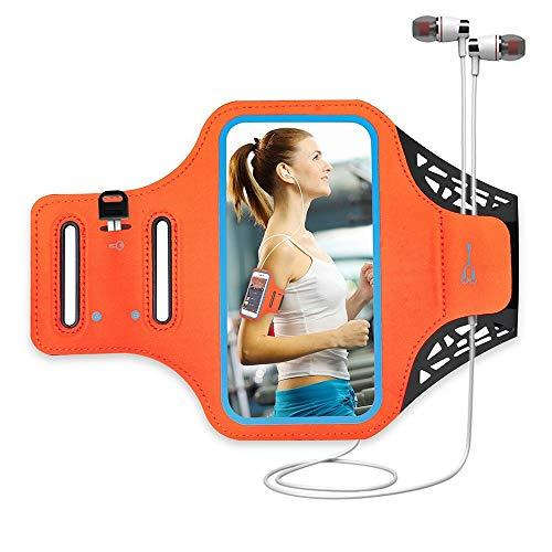 Armband Tragbares Outdoor Sport Handy-Arm-Beutel Jogging Fitness Arm Gürtel wasserdichten Anti-Schock for das Laufen, Training, Wandern (Farbe: Schwarz, Größe: 5.5) xuwuhz ( Color : Red , Size : 4.7 )
