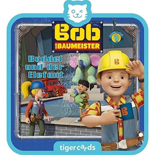 Tigerbox 4155 tigercard-Bob der Baumeister-Folge 9: Buddel der Elefant
