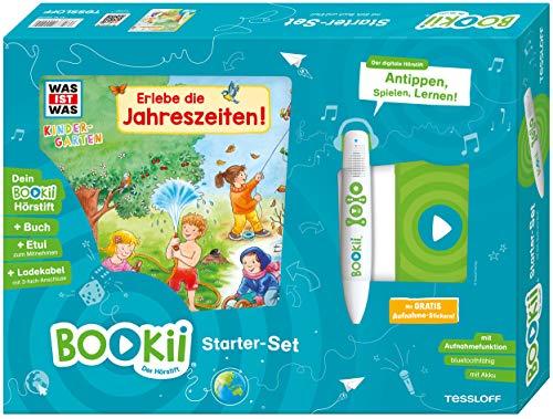BOOKii Starter-Set was IST was Kindergarten Erlebe die Jahreszeiten Hörstift mit Aufnahmefunktion Kindergarten Buch Erlebe die Jahreszeiten!