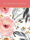 Watercolor Floral Boho Positivity Diary and Gratitude Journal