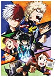 Trends International My Hero Academia - Faces Wall Poster with Push Pins,