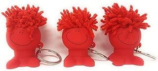 3 Kawaii Mop Topper Phone Stand Keychain Pack