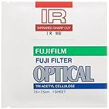 FUJIFILM 光吸収・赤外線透過フィルター(IRフィルター) 単品 フイルター IR 86 7.5X 1