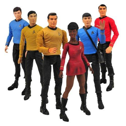 Star Trek Original Series Seven Inch Action Figure Two-Pack Set of Three image