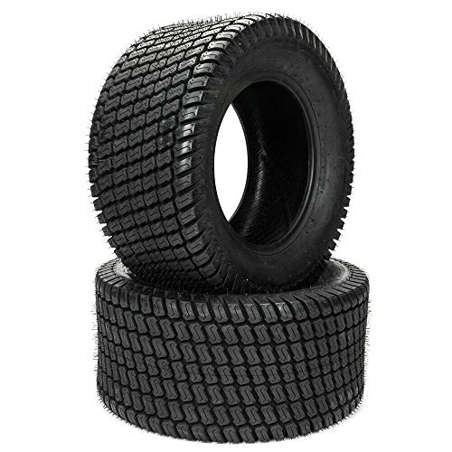 TRIBLE SIX Set of 2 23x10.50x12 Lawn Mower Golf Cart Garden Tires 23-10.5-12 Load Range B 4PR P332 Tubeless